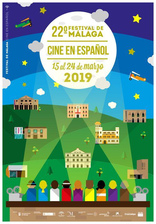 Cartel Festival Malaga Cine en Español 2019