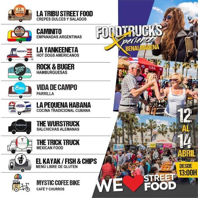 Lista de Food Trucks para Food Truck Experience en Benalmádena