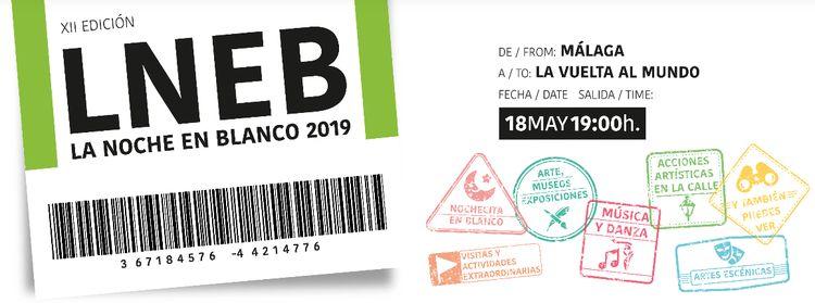 Noche en Blanco Málaga 2019