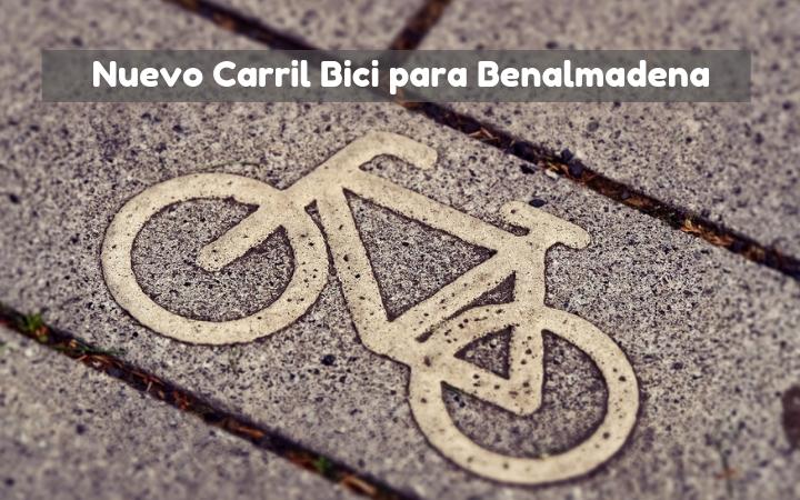 Nuevo carril bici en Benalmádena