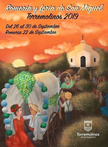 Cartel Feria de San Miguel Torremolinos 2019