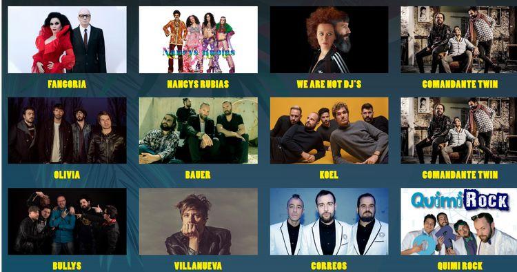 Los artistas de Benalfest