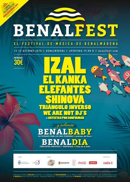 Cartel de Benalfest 2018