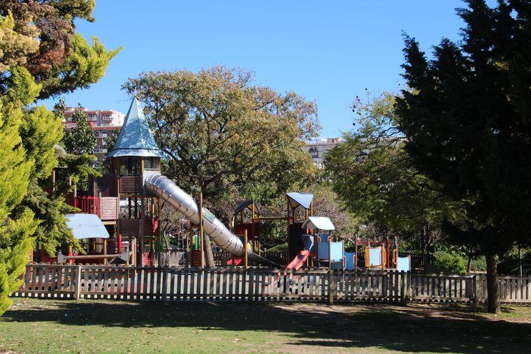 Parque infantil en Parque La Paloma, Benalmádena