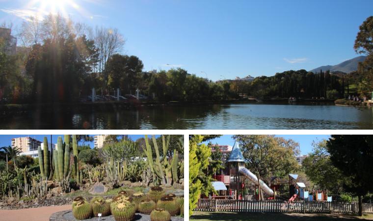 El Parque de la Paloma en Benalmádena