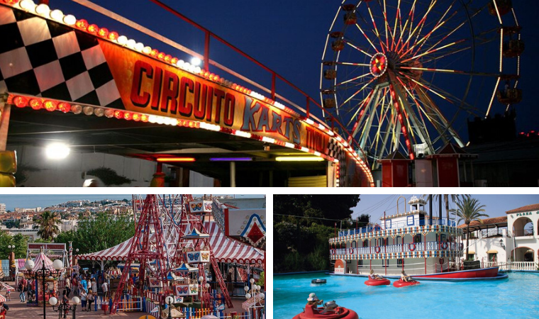 Parque de atracciones Tivoli World en Benalmadena