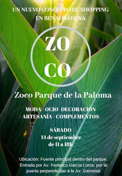 Nuevo Zoco en Parque de la Paloma