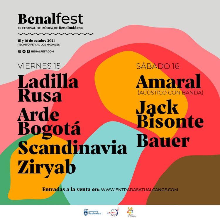 Cartel Benalfest 2021