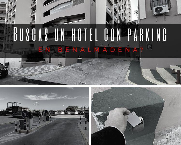 Hotel con parking en Benalmadena