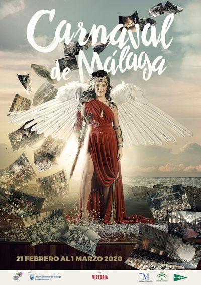 Cartel Carnaval de Malaga 2020
