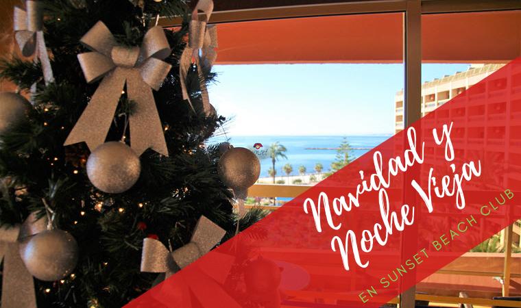 Navidad y Nochevieja 2020 en Sunset Beach Club