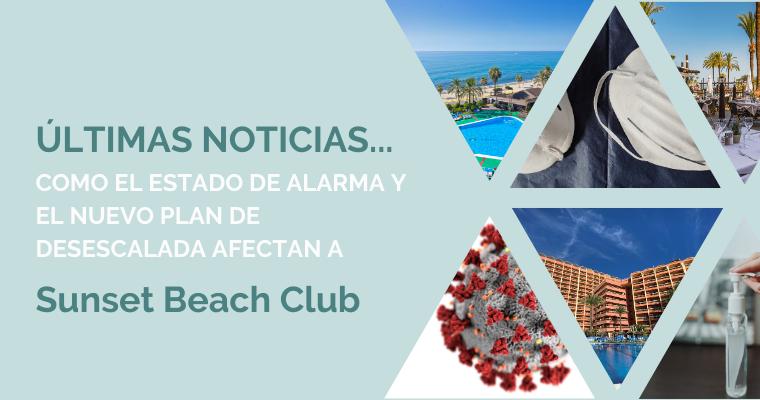 Ultimas noticias del hotel Sunset Beach Club