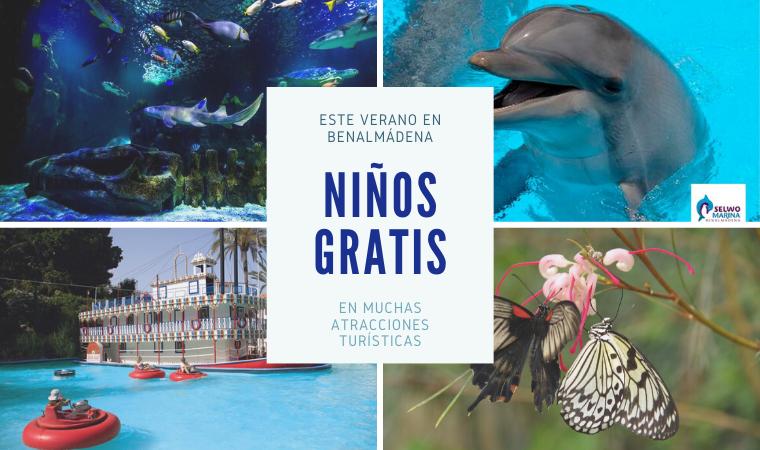 Oferta de niños gratis en Benalmádena este verano