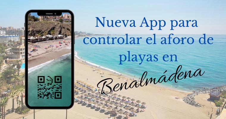 Nueva app para cotrolar aforo de playas en Benalmadena