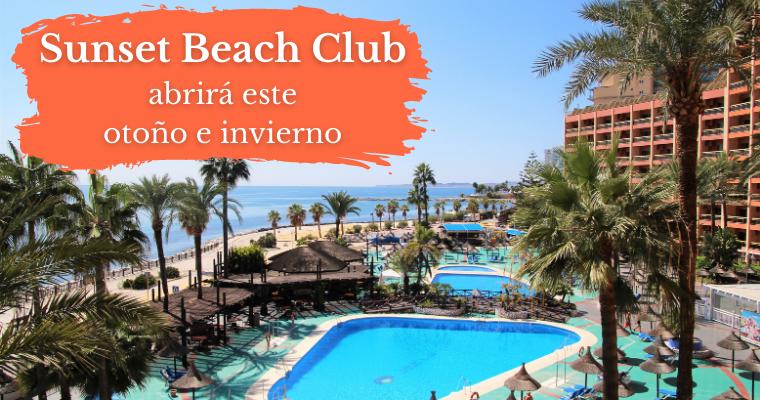 Sunset Beach Club abre en otoño e invierno