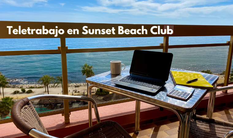 Teletrabajo en Benalmadena en Hotel Sunset Beach Club